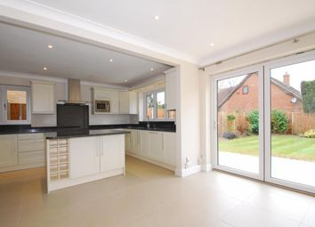 Thumbnail 5 bed detached house to rent in Ellesmere Road, Weybridge