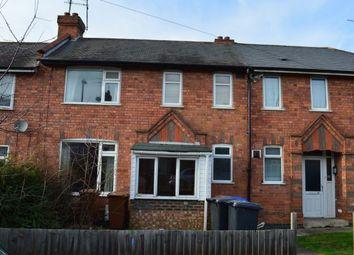Thumbnail 4 bedroom terraced house to rent in Ruskin Road, Kingsthorpe, Northampton