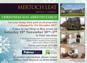 Thumbnail 3 bedroom terraced house for sale in Water Street, Martock