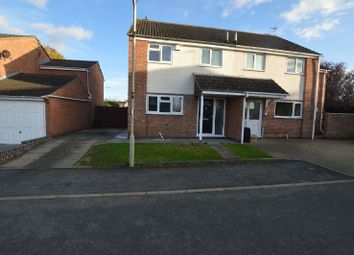 Thumbnail 3 bed semi-detached house to rent in Wexford Close, Oadby, Leicester