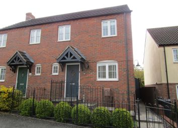 Thumbnail 3 bed semi-detached house to rent in Willoughby Chase, Gainsborough