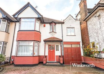 Thumbnail 4 bed semi-detached house for sale in Hervey Close, Finchley, London