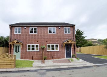 Thumbnail 3 bedroom semi-detached house for sale in Queens Road, Brymbo, Wrexham