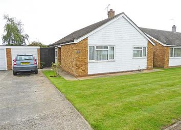 Thumbnail 3 bedroom detached bungalow for sale in Majors Close, Chedburgh, Bury St. Edmunds