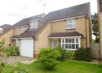 Thumbnail 4 bed detached house for sale in Coltsfoot Way, Thetford