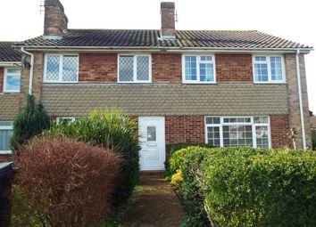 Thumbnail 3 bedroom property to rent in Barton Close, Worthing