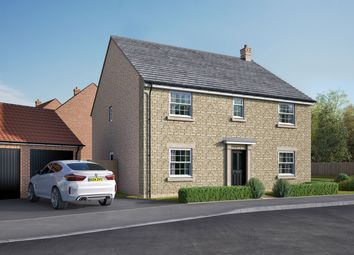 "Thumbnail 5 bed detached house for sale in ""The Attingham"" at Uffington Road, Barnack, Stamford"