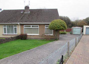 Thumbnail 3 bed semi-detached bungalow for sale in Caer Berllan, Pencoed, Bridgend.