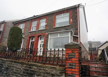 Thumbnail 3 bed semi-detached house for sale in St. Albans Road, Treorchy