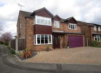 Thumbnail 5 bed detached house for sale in Shaw Way, Nettleham, Lincoln