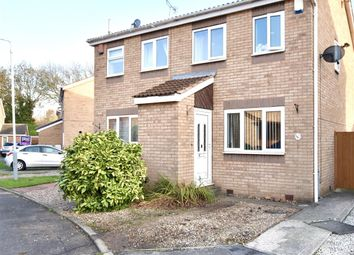 Thumbnail 2 bed semi-detached house for sale in Millfield View, Worksop