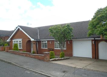 Thumbnail 3 bedroom detached bungalow for sale in Woburn Avenue, Kirkby-In-Ashfield, Nottingham