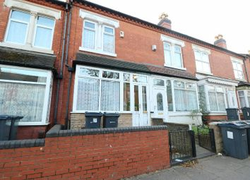 Thumbnail 3 bed terraced house for sale in Greenhill Road, Handsworth, West Midlands