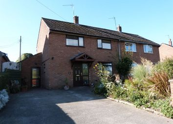 Thumbnail 3 bed semi-detached house for sale in The Willows, West Felton, Oswestry