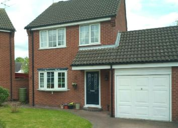 Thumbnail 3 bed detached house for sale in Freer Close, Blaby, Leicester