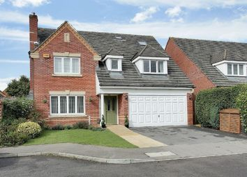 Thumbnail 5 bed detached house for sale in St. Swithin Way, Andover