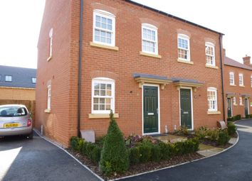 Thumbnail 2 bed semi-detached house to rent in Stedeham Road, Great Denham, Bedfordshire