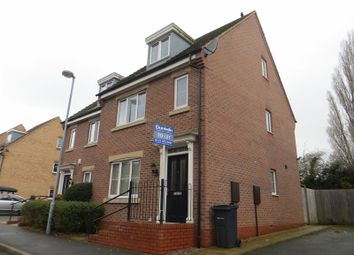 Thumbnail 4 bed semi-detached house to rent in Rea Road, Northfield, Birmingham