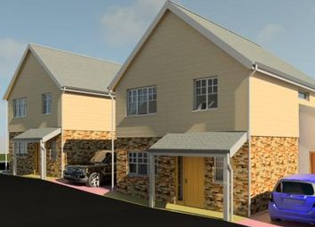 Thumbnail 4 bed detached house for sale in Slades Road, St. Austell