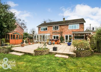 Thumbnail 5 bed detached house for sale in School Lane, Little Melton, Norwich