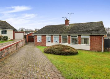 Thumbnail 2 bed semi-detached bungalow for sale in Tinabrook Close, Ipswich