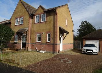 Thumbnail 2 bed end terrace house for sale in Ogmore Drive, Nottage, Porthcawl