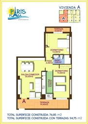 Thumbnail 2 bed apartment for sale in La Mata, Torrevieja, Alicante, Valencia, Spain