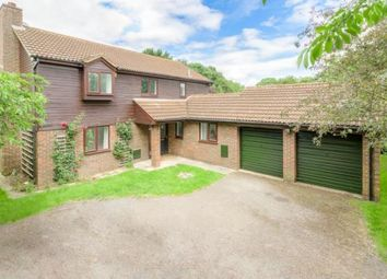 Thumbnail 4 bed detached house for sale in Millhayes, Great Linford, Milton Keynes
