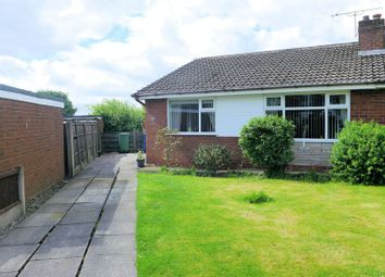 Thumbnail 2 bedroom semi-detached bungalow for sale in Great Stone Close, Radcliffe, Manchester