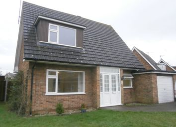 Thumbnail 3 bed detached house to rent in Beech Crescent, West Winch, King's Lynn