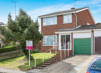 Thumbnail 3 bed detached house for sale in Pearsons Way, Copdock, Ipswich