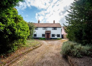 Thumbnail 4 bed detached house for sale in Combs Lane, Stowmarket