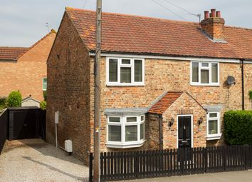 Thumbnail 3 bed semi-detached house for sale in The Village, Wigginton, York