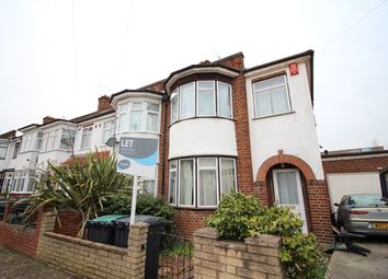 Thumbnail 3 bed end terrace house to rent in Stirling Road, Wood Green, London