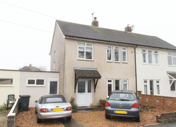 Thumbnail 3 bedroom semi-detached house for sale in Churchill Avenue, Clevedon