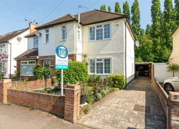Thumbnail 3 bed property for sale in Molesey Close, Hersham, Walton-On-Thames