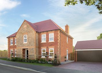 """Thumbnail 5 bed detached house for sale in """"Glidewell"""" at Winchester Road, Whitchurch"""