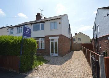 Thumbnail 3 bed semi-detached house to rent in Shaftesbury Avenue, Vicars Cross, Chester