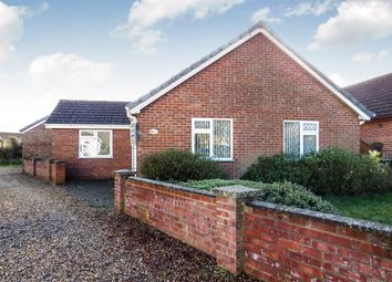 Thumbnail 3 bed detached bungalow for sale in Chequers Green, Great Ellingham, Attleborough