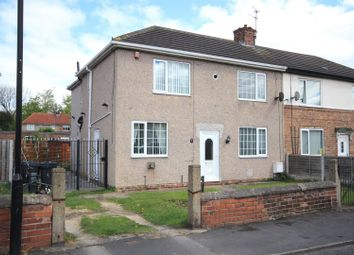 Thumbnail 4 bed semi-detached house for sale in Edward Road, Skellow, Doncaster
