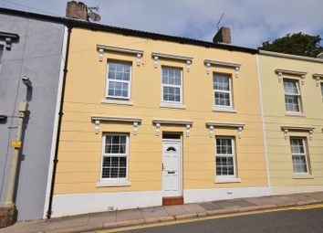 Thumbnail 4 bed town house for sale in Wellington Row, Whitehaven