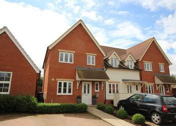 Thumbnail 3 bedroom end terrace house for sale in Fishmere Mead, Saffron Walden