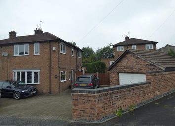Thumbnail 3 bed semi-detached house for sale in Coronation Avenue, Alsager, Cheshire