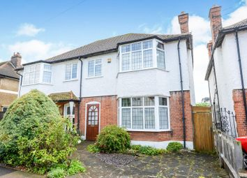 Thumbnail 4 bed semi-detached house for sale in Burford Road, Bromley