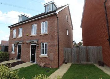 Thumbnail 4 bed semi-detached house for sale in Gold Furlong, Marston Moretaine