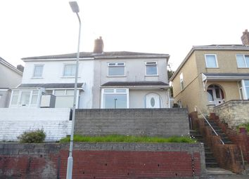 Thumbnail 3 bed semi-detached house for sale in Lydford Avenue, St Thomas, Swansea