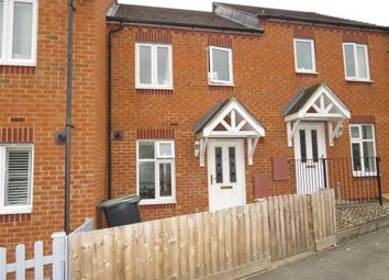 Thumbnail 2 bed terraced house for sale in Rushmere Close, Raunds, Wellingborough