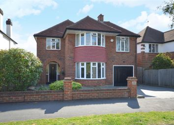 Thumbnail 4 bed detached house for sale in Shere Avenue, Cheam, Sutton