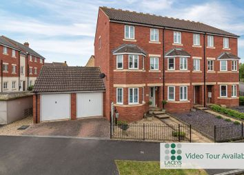Thumbnail 4 bed town house for sale in Merevale Way, Yeovil