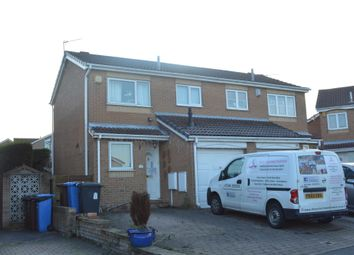 Thumbnail 2 bed semi-detached house to rent in Beechfern Close, High Green, Sheffield